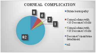A prospective study on corneal complications of small incision cataract surgery conducted in rural hospital